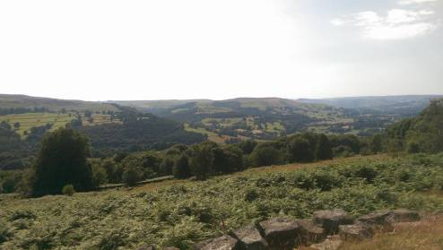 View over Hathersage